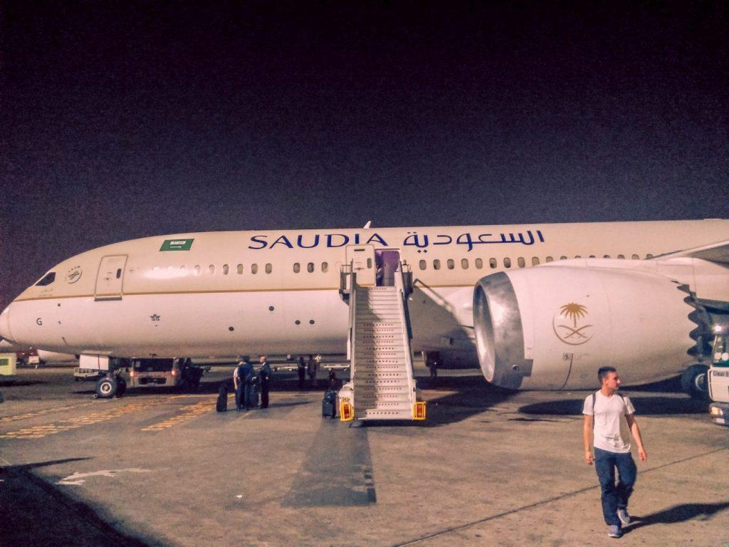 viajar con saudia