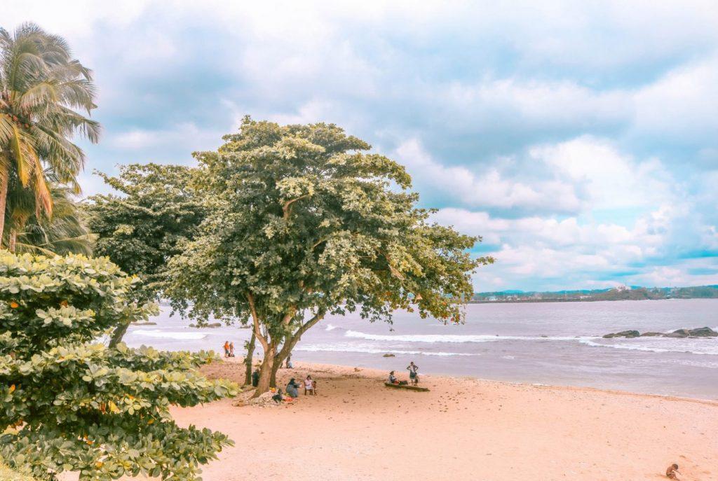 Playa de Fort Galle