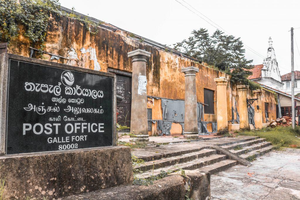 Oficina Correos de Fort Galle