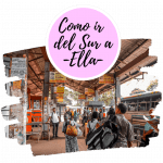 Como ir del sur de Sri Lanka a Ella