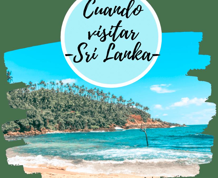 Cuando viajar a Sri Lanka