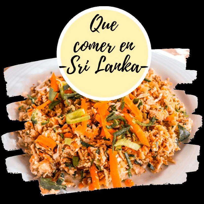 Comida Sri Lanka