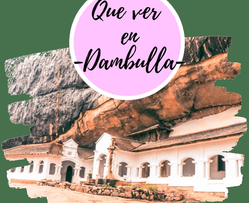 Que ver en Dambulla