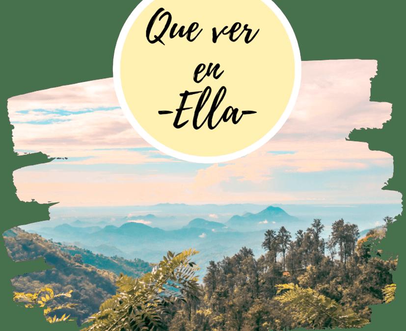 Qué ver en Ella