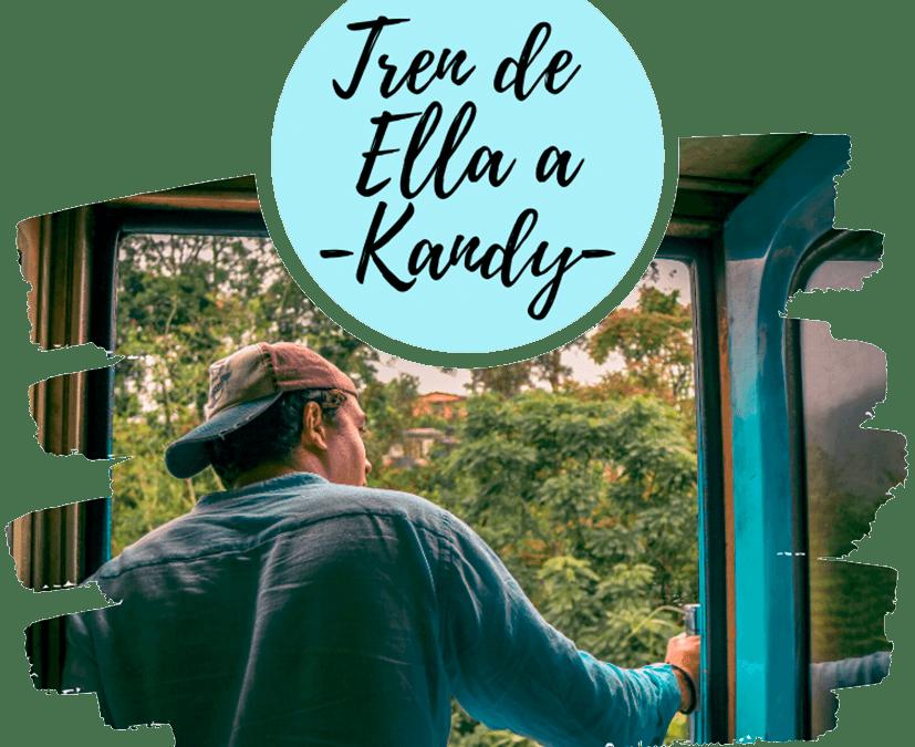 Tren de Ella a Kandy