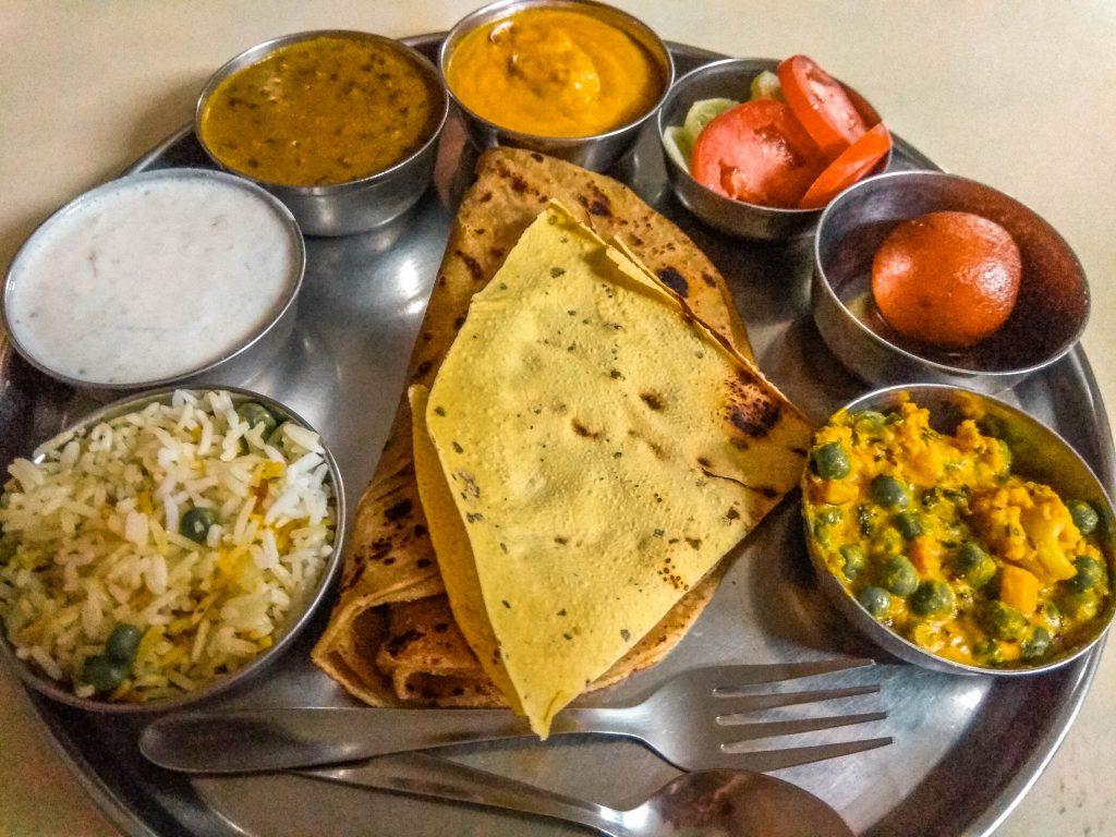 Thali: plato tradicional indio