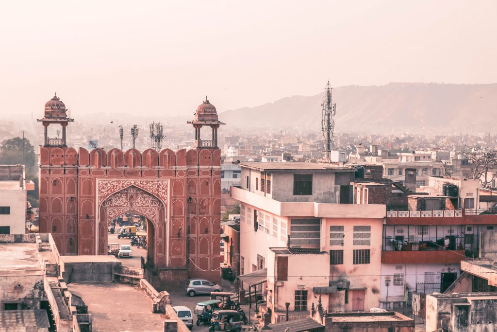 Ciudad Rosa de Jaipur