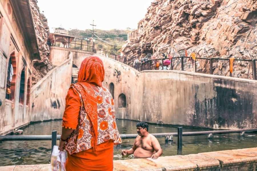 visitar templo de los monos jaipur