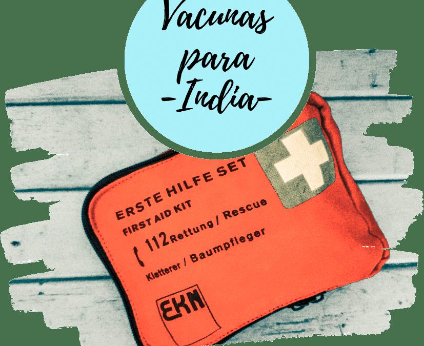 Vacunas para la India