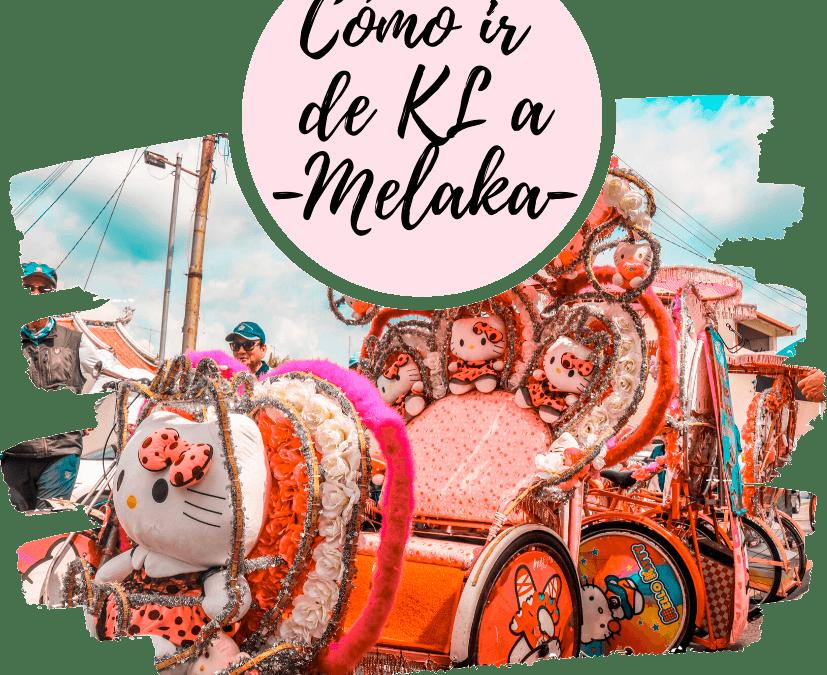 Como ir de Kuala Lumpur a Melaka