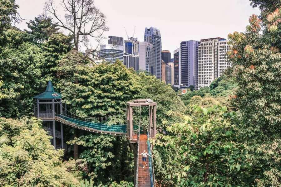 Puentes colgantes Kuala Lumpur