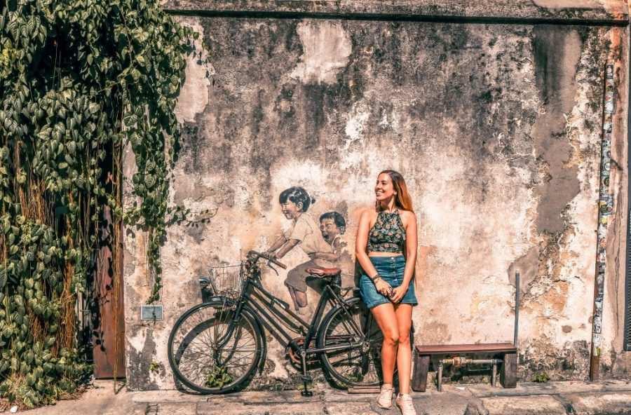 Arte urbano en las calles de Georgetown