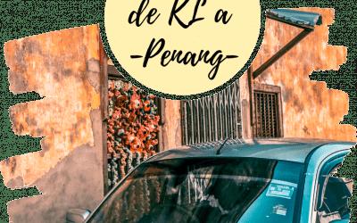 Como ir de Kuala Lumpur a Penang