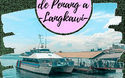 Como ir de Penang a Langkawi