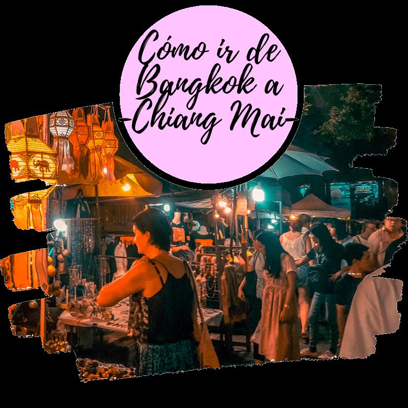 Como ir de Bangkok a Chiang Mai o Chiang Rai