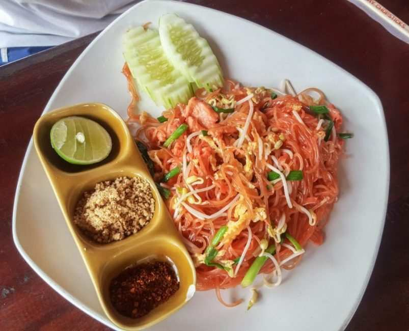 comida tipica tailandesa