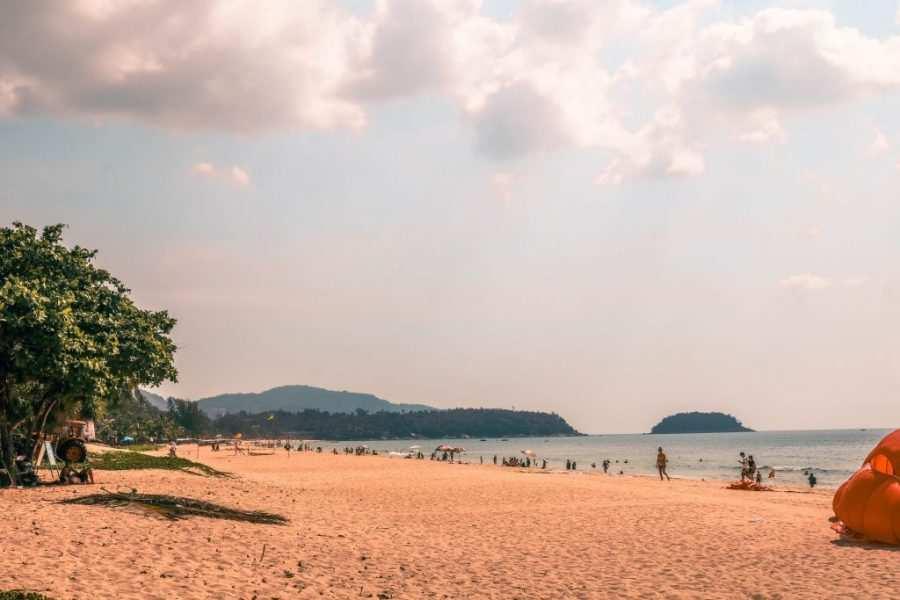 mapa de phuket y sus playas