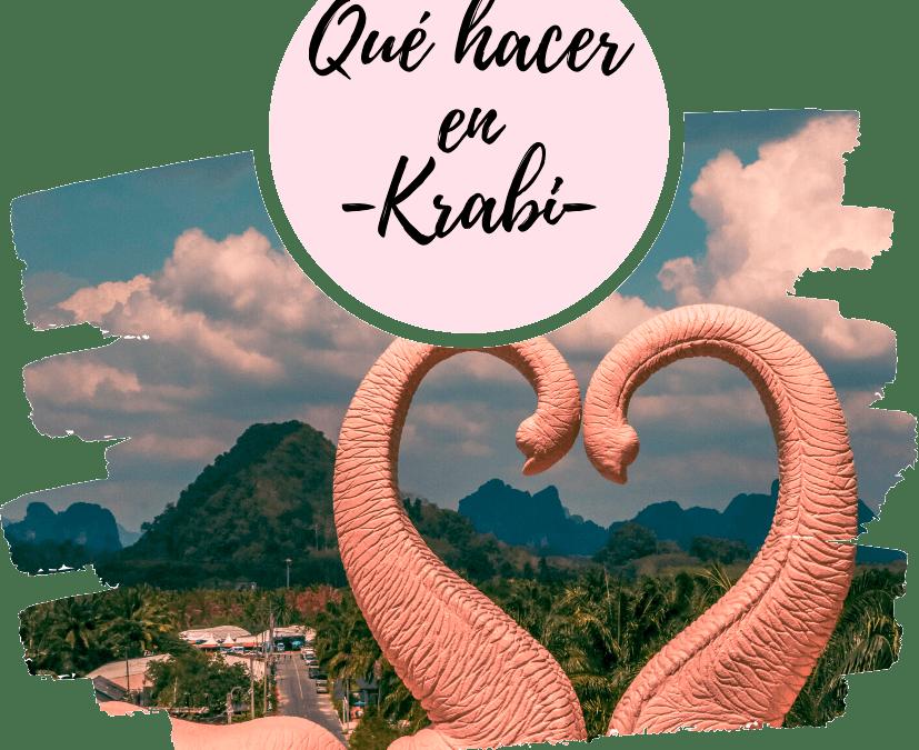 Qué hacer en Krabi