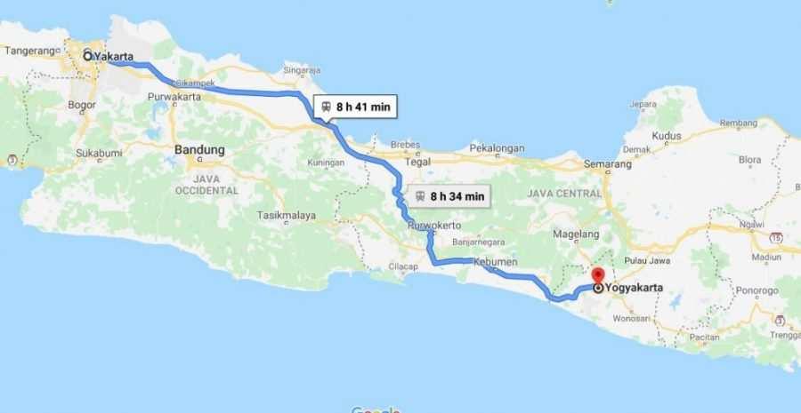 Cómo ir de Yakarta a Yogyakarta