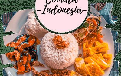 Comida típica de Indonesia