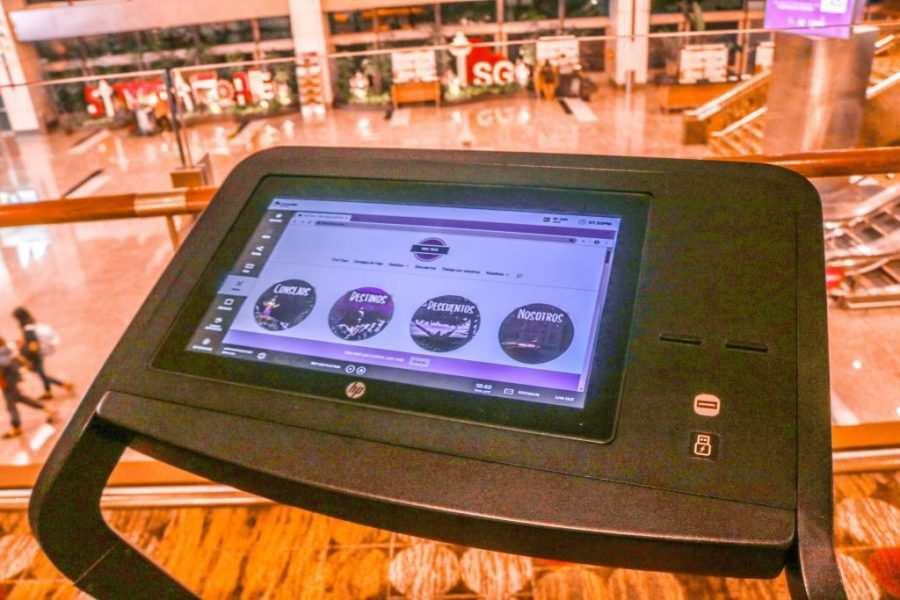 que ver en el aeropuerto de singapur