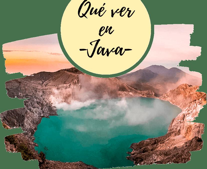 Qué ver en Java