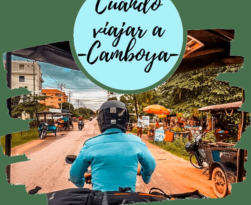 Mejor época para viajar a Camboya