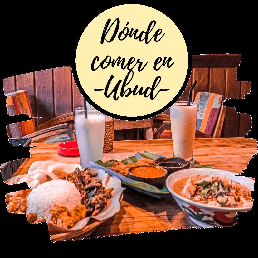 Dónde comer en Ubud