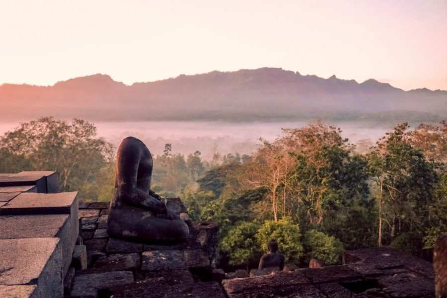 templo budista de indonesia