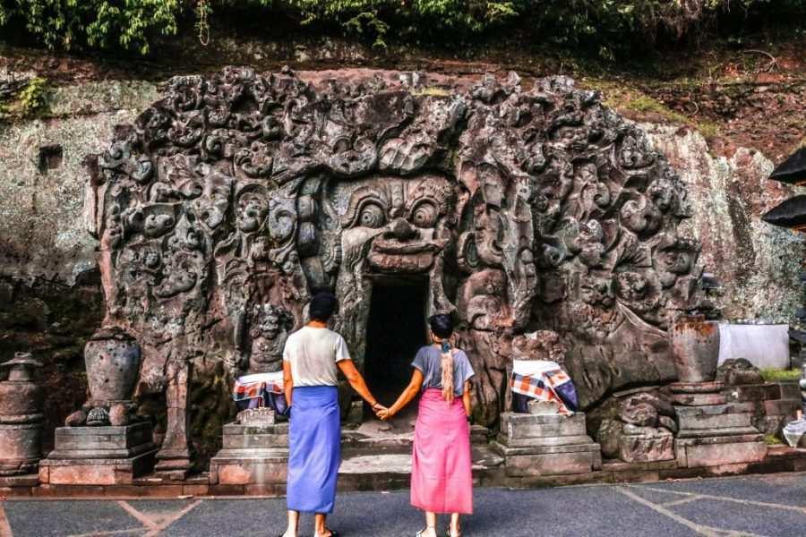 templo elefante bali