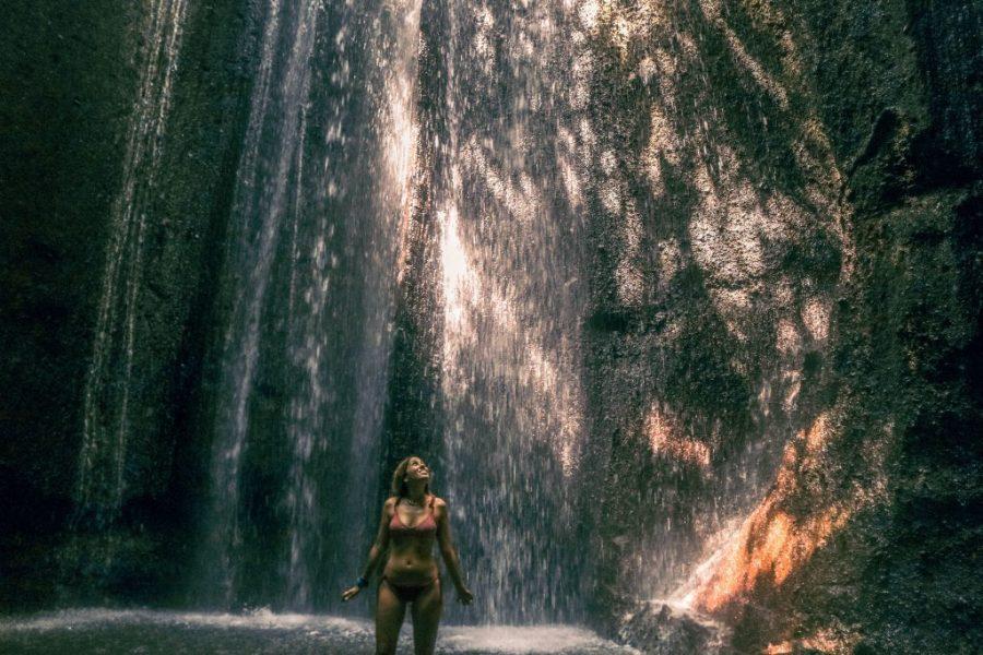Cascada de la cueva Tukad Cepung