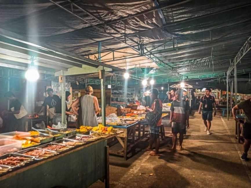 Dónde comer en Gili Trawangan barato