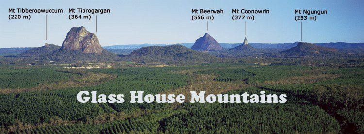 Glass House Mountains Australia