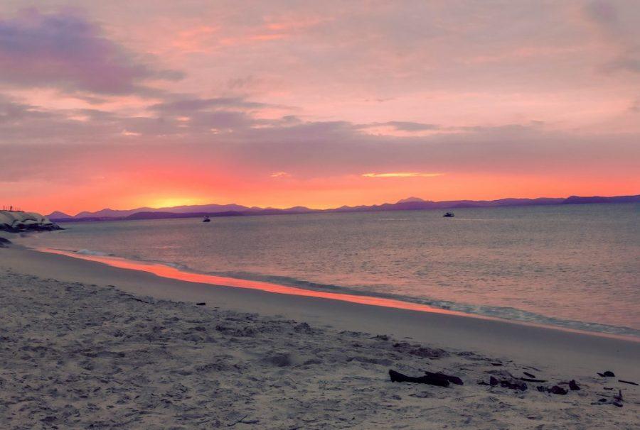 Atardecer en Great Keppel Island