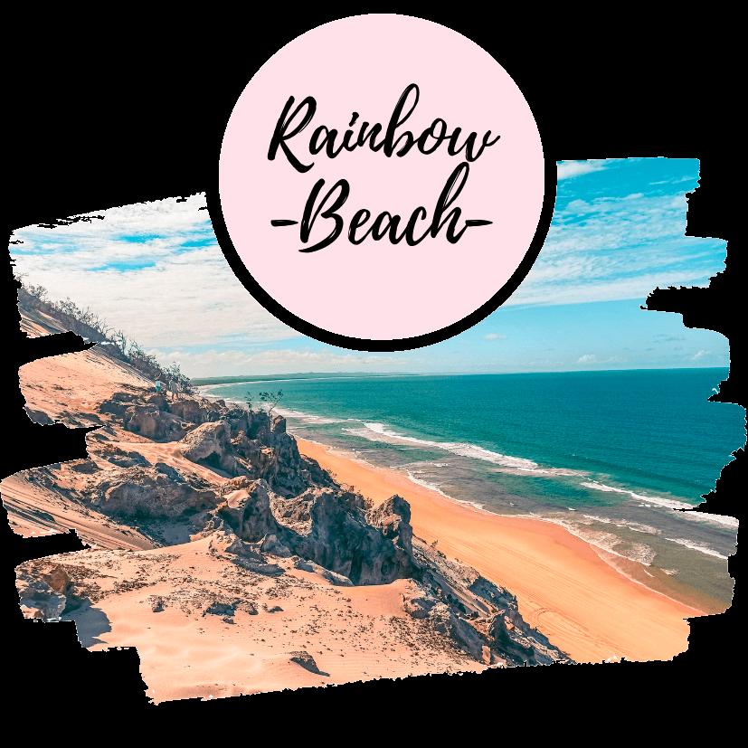 Guía para visitar Rainbow Beach