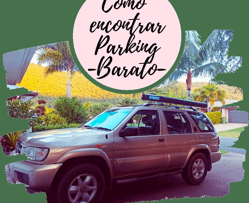 Cómo encontrar y reservar parking barat